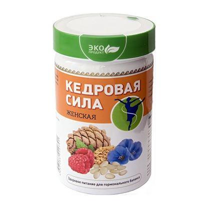 """Изображение """"Кедровая сила Женская"""", белково-витаминный продукт"""