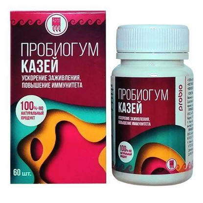 Пробиогум Казей, таблетки, 60 шт.