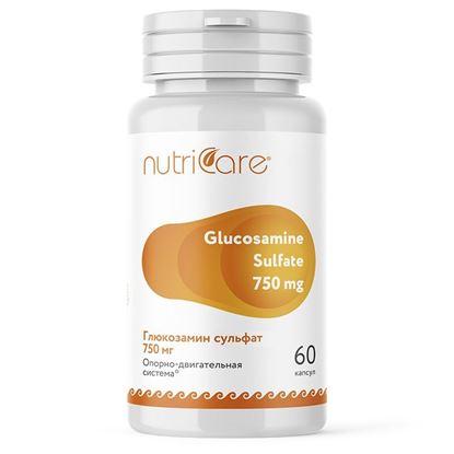 Изображение Глюкозамин Сульфат 750 мг, таблетки, 60 шт